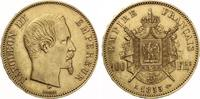 1855 A  Frankreich 100 Frans Napoleon III Gold ss-vz  1395,00 EUR kostenloser Versand