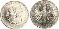 1957  5 DM Freiherr von Eichendorff vz kl Kratzer  180,00 EUR  zzgl. 4,00 EUR Versand