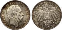1902  2 Mark Sachsen 1902 Albert auf den Tod Jaeger 127 Stempelglanz P... 125,00 EUR  zzgl. 4,00 EUR Versand