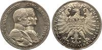 3 Mark Sachsen Weimar Eisenach 1915 Jaeger 163 100 Jahre Grossherzogtum
