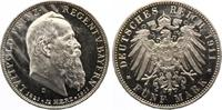 1911  5 Mark Bayern Luitpold Jaeger 50 90 Geburtstag PP Aver min berie... 275,00 EUR  zzgl. 4,00 EUR Versand
