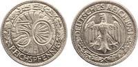 1931 J  50 Reichspfennig ss-vz  135,00 EUR  zzgl. 4,00 EUR Versand