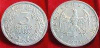 1931 A  3 Mark vz kl. Rf  315,00 EUR  zzgl. 4,00 EUR Versand