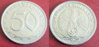 1939 G  50 Reichspfennig vz  85,00 EUR  zzgl. 4,00 EUR Versand