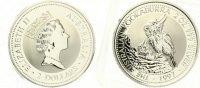 1997  2 Dollars Kookaburra st  80,00 EUR  zzgl. 4,00 EUR Versand