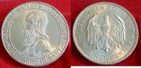 1927  3 Mark Uni Tübingen vz-st min Rf  375,00 EUR  zzgl. 4,00 EUR Versand