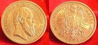 1873  20 Mark Württemberg vz  615,00 EUR kostenloser Versand