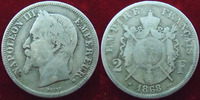Second Empire  NAPOLEON III, 2 francs 1868 BB Strasbourg, G.527 TB+