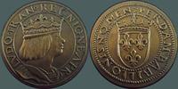 France Essai au type du ducat d'or de Louis XII, bronze non daté, Par... 90,00 EUR  +  6,00 EUR shipping