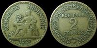 1927 France Bon pour 2 francs Dommard 1927, G.533 Presque TTB Rare! ss-  230,00 EUR  zzgl. 6,00 EUR Versand