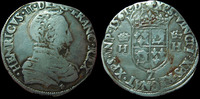 1561 L France CHARLES IX au nom d'HENRI II, Teston 1561 L Bayonne, 9,3... 135,00 EUR  zzgl. 6,00 EUR Versand