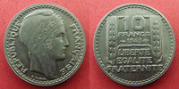 1945 France 10 francs Turin 1945 'rameaux courts', G.810 a SUPERBE R! vz  110,00 EUR  zzgl. 6,00 EUR Versand