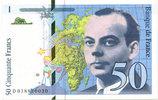 1994 Billets libellés en francs 50 Francs Saint Exupery, 1994 Gal non ... 350,00 EUR  zzgl. 6,00 EUR Versand