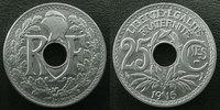 1915 France 25 centimes Lindauer 1915 cmes souligné, G.379 SUPERBE vz  18,50 EUR