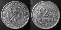 1951 G Allemagne, Deutschland, Germany 2 Mark 1951 G, J.386 petite taâ... 38,00 EUR