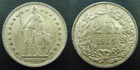 1955 B SUISSE, SCHWEIZ, SWITZERLAND Suisse, Switzerland, Schweiz, 2 fr... 6,50 EUR
