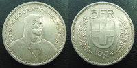 1954 B SUISSE, SCHWEIZ, SWITZERLAND Suisse, Switzerland, Schweiz, 5 fr... 12,00 EUR