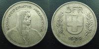 1932 B SUISSE, SCHWEIZ, SWITZERLAND Suisse, Switzerland, Schweiz, 5 fr... 8,50 EUR