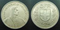 1954 B SUISSE, SCHWEIZ, SWITZERLAND Suisse, Switzerland, Schweiz, 5 fr... 9,50 EUR