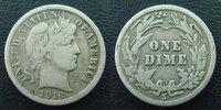 1916 S U.S.A USA, One dime 1916 S, TB à TTB s-ss  12,50 EUR