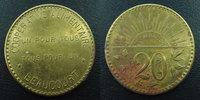 Beaucourt Beaucourt, Territoire de Belfort, 20 centimes laiton 28 mm,... 5,50 EUR  zzgl. 6,00 EUR Versand