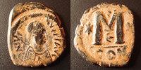 518-527 n. Chr. Byzantine Empire JUSTIN I, JUSTINUS I, follis Constant... 25,00 EUR  zzgl. 6,00 EUR Versand