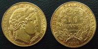 1896 A France 10 Francs 1896 A Cérès, or 900°/°° 3,21 grms, G.1016 pet... 185,00 EUR  zzgl. 6,00 EUR Versand