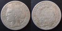 1849 A France 2 francs Cérès 1849 A Paris, 2e République, G.522 TB+ s+... 45,00 EUR  zzgl. 6,00 EUR Versand