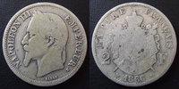 1866 K France NAPOLEON III, 2 francs 1866 K Bordeaux, G.527 B à TB Rar... 45,00 EUR  zzgl. 6,00 EUR Versand