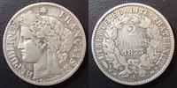1873 A France 2 francs Cérès 1873 A Paris, 3e République, G.530a Léger... 30,00 EUR  zzgl. 6,00 EUR Versand