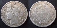 1872 A France 2 francs Cérès 1872 A Paris, 3e République, G.530a presq... 45,00 EUR  zzgl. 6,00 EUR Versand