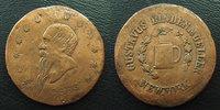 1863 Jeton USA, token US USA, jeton rond de 25/26 mm, Guerre civile 18... 20,00 EUR  zzgl. 6,00 EUR Versand