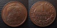 1912 France 1 Centime Daniel Dupuis 1912, G.90 TTB à SUPERBE vz  5,50 EUR  zzgl. 6,00 EUR Versand
