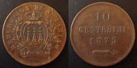 1875 Italie, Italia San Marino San Marino, Italie, Italia, 10 centesim... 8,50 EUR  zzgl. 6,00 EUR Versand