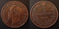 1861 M Italie, Italia, Italien Italie, Italia, 5 centesimi 1861 M, KM.... 3,50 EUR  zzgl. 6,00 EUR Versand
