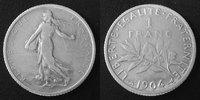 1904 France 1 Franc Semeuse de Roty 1904, G.467 TB à TTB s-ss  9,50 EUR  zzgl. 6,00 EUR Versand