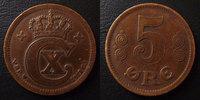 1917 Danemark, Denmark Danemark, Denmark, 5 ores 1917, Christian x, KM... 13,50 EUR  zzgl. 6,00 EUR Versand