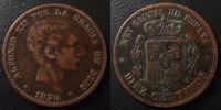 1878 Espagne, Spain Espagne, Spain, 10 centimos 1878, Alphonso XII, TT... 10,00 EUR  zzgl. 6,00 EUR Versand