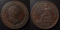 1812 Token Token, Half penny 1812, Lower Canada, 27,5 mm TTB+ ss+  30,00 EUR  zzgl. 6,00 EUR Versand