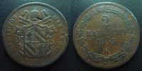 1853 R Vatican, papal states VATICAN, Pie IX, Pius IX, 2 baiocchi 1853... 18,50 EUR  zzgl. 6,00 EUR Versand