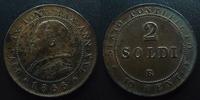 1866 R Vatican, papal states VATICAN, PIE IX, PIUS IX, 2 soldi 1866 R,... 35,00 EUR  zzgl. 6,00 EUR Versand