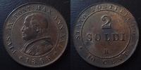 1866 R Vatican, papal states VATICAN, Pie IX, Pius IX, 2 soldi 1866 R,... 45,00 EUR  zzgl. 6,00 EUR Versand