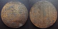 1777 Almanach, calendrier ALMANACH 1777, Louis XVI, médaille de poche,... 150,00 EUR  zzgl. 6,00 EUR Versand