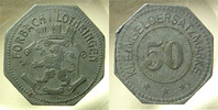 Alsace-Lorraine  FORBACH LOTHRINGEN, 50 pfennig, E.10.3 TTB