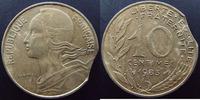 1983 France 10 centimes Lagriffoul, Marianne, 1983 clipée, Chort.EM 22... 85,00 EUR  zzgl. 6,00 EUR Versand