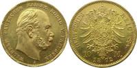 """Deutschland Preussen 10 Mark Gold J242 10 Mark Gold Wilhelm I. """"A"""""""
