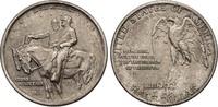 1/2 Dollar 1925 USA Half Dollar - Stone Mountain Memorial vz, feine Pat... 38,00 EUR  plus 6,50 EUR verzending