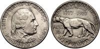1/2 Dollar 1927 USA Half Dollar - Vermont Sesquicentennial vz-st  265,00 EUR  plus 11,50 EUR verzending