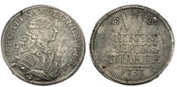 Brandenburg-Ansbach 1/6 Taler Christian Fried. Karl Alexander 1757-1791
