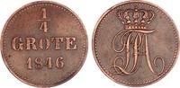 Oldenburg 1/4 Grote 1846 ss+, zap. Paul Friedrich August 1829-1853 22,00 EUR  zzgl. 4,95 EUR Versand